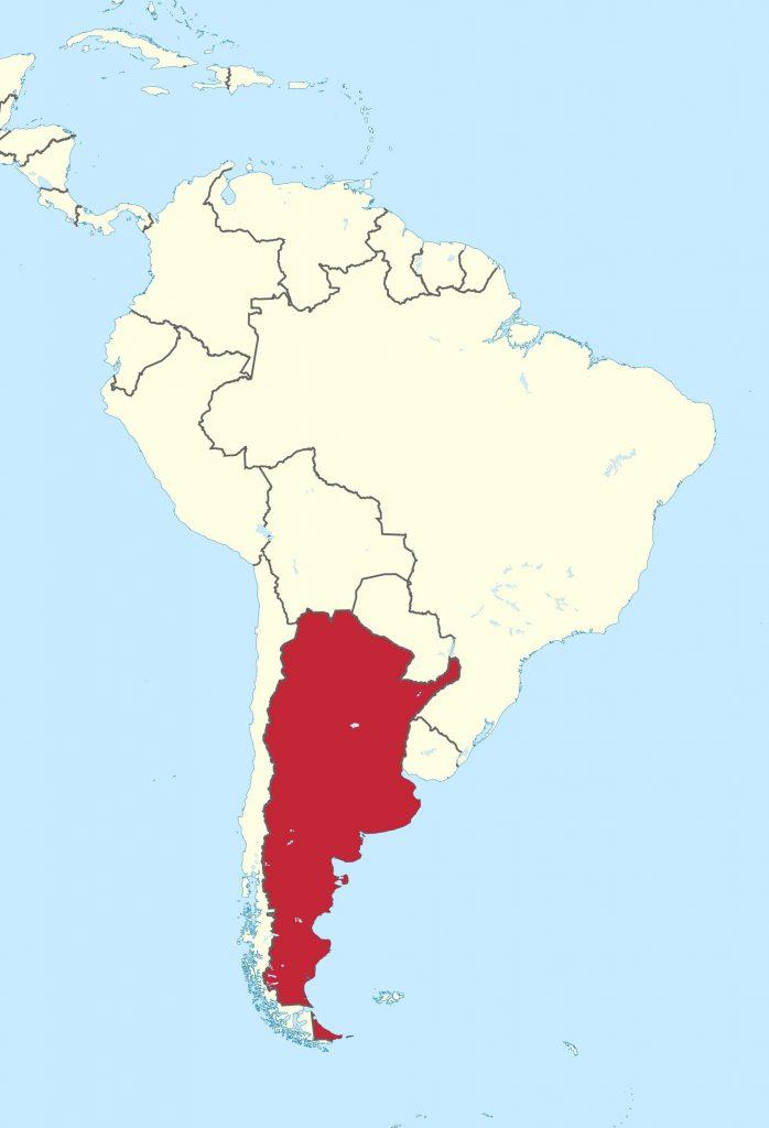 Superficie de Argentina