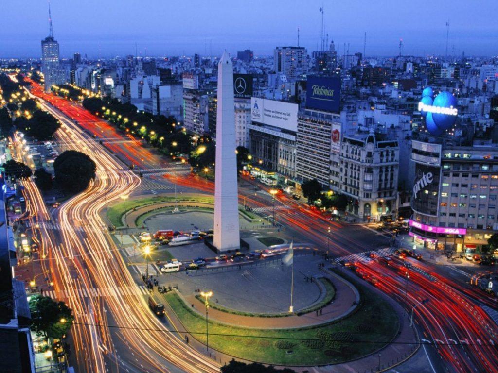 Obelisco de Argentina