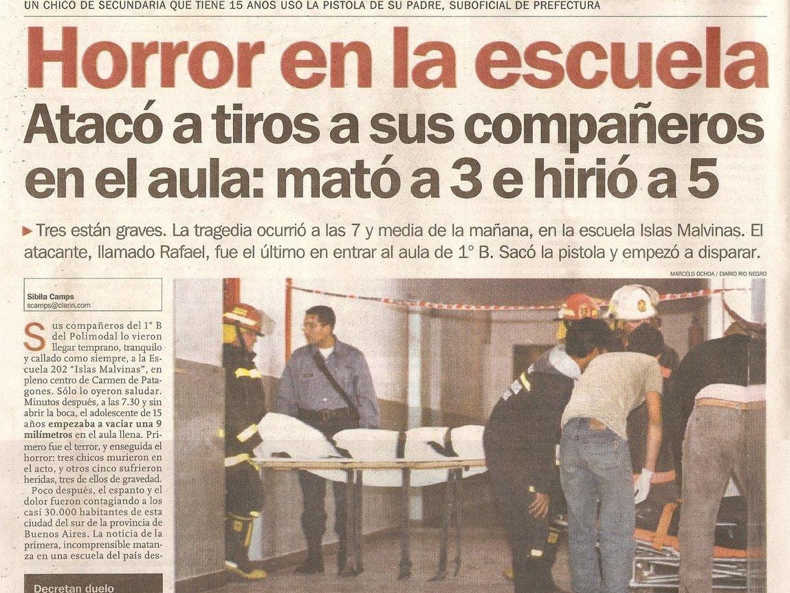 Carmen de patagones Masacres