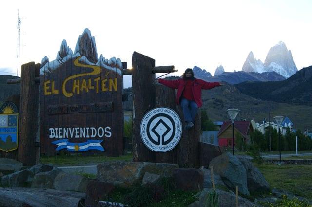 El Chalten Argentina letreros