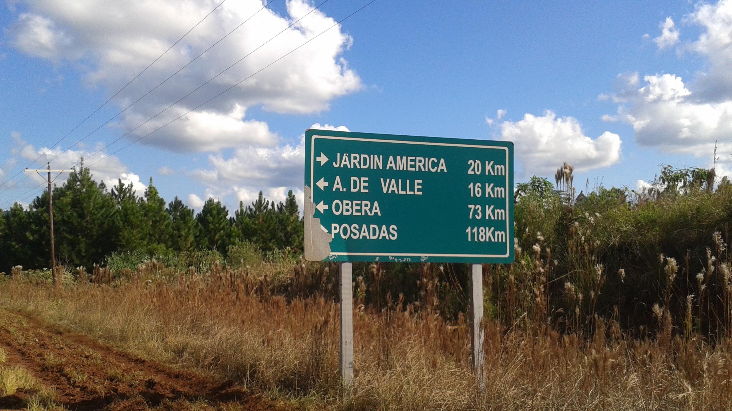 Jardín América Misiones