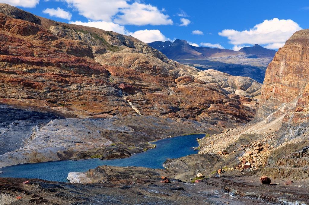Prque Nacional Los Glaciares Cañones