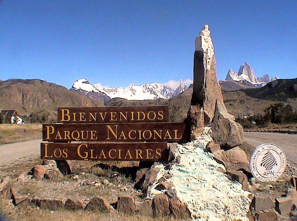 Parque Nacional Los Glaciares relieves