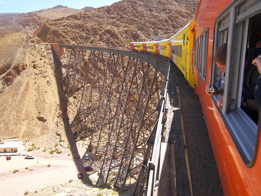 Salta, Una ruta por el tren de las nubes